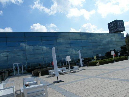 AC Hotel Palau de Bellavista by Marriott: Vista desde la terraza del hotel