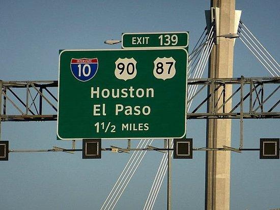 Sleep Inn & Suites I-45 / Airtex: On the road