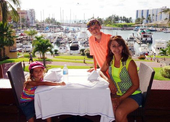 El Cid Marina Beach Hotel : HERMOSA VISTA DESDE EL RESTAURANTE
