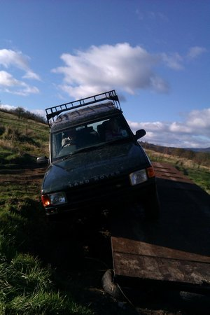 Action Adventure Activities : Our Farm & Woodland 4x4 Track Offers Some Challeges