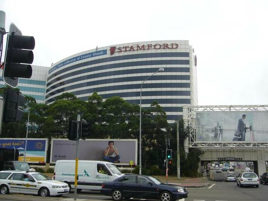 Stamford Plaza Sydney Airport : The hotel view