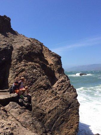 Lands End: Climb the rocks