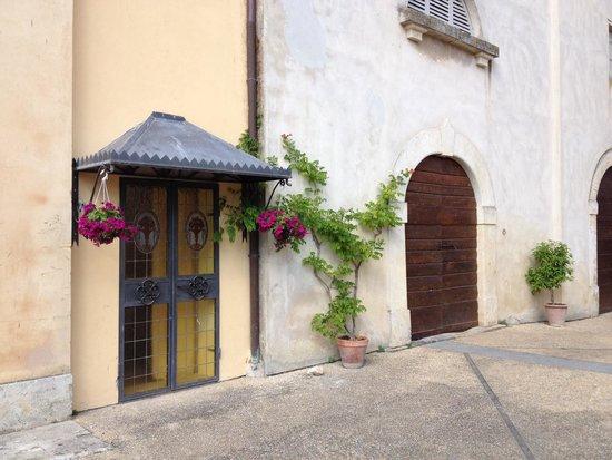 Villa Sabolini Hotel : Bijgebouw waar de superior kamers zijn