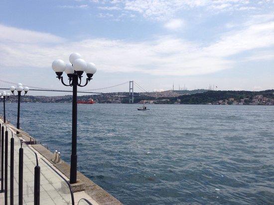 Ciragan Palace Kempinski Istanbul: Lovely views