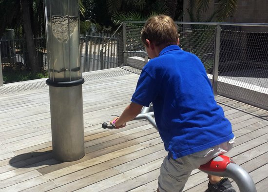 Museo Nacional de Ciencia, Tecnología y Espacio: Kid Powered Vortex