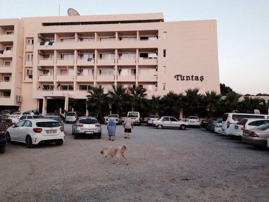 Tuntas Beach Hotel Altinkum: Hotel Tuntas