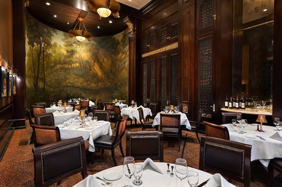 Richmond room picture of hy 39 s steak house toronto for Best private dining rooms toronto