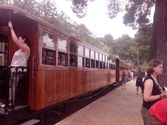 Ferrocarril de Sóller: поезд