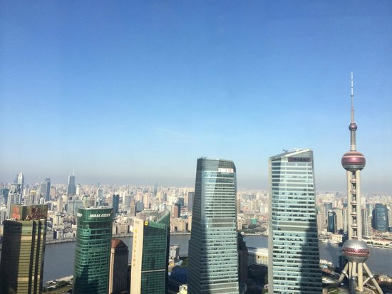 View from Grand Hyatt Shanghai