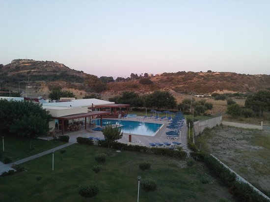 Zoes Hotel : view from my room