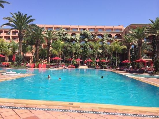Sofitel Marrakech Lounge and Spa: magnifique