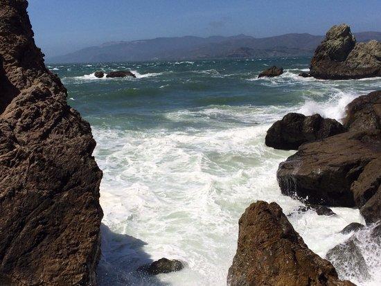 Lands End: Crashing waves