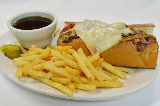 Rodeside Grill: Italian Beef Sandwich