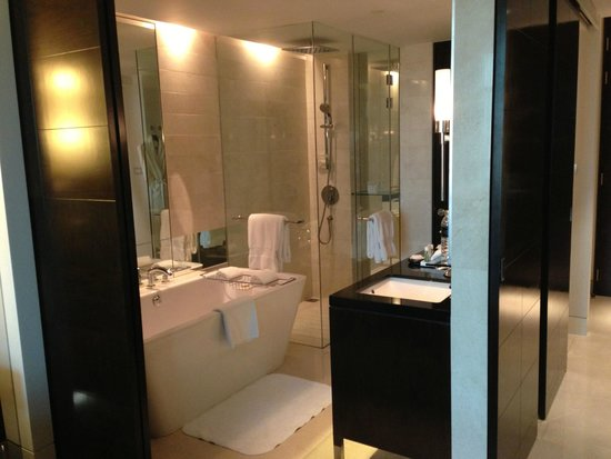 The St. Regis Bangkok: Luxurious bathroom