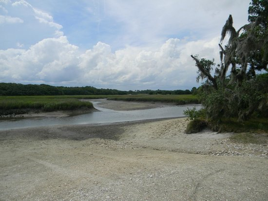 Little Talbot Island State Park: river at low tide