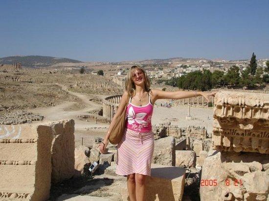 Ruinen von Gerasa: Jerash, Jordania