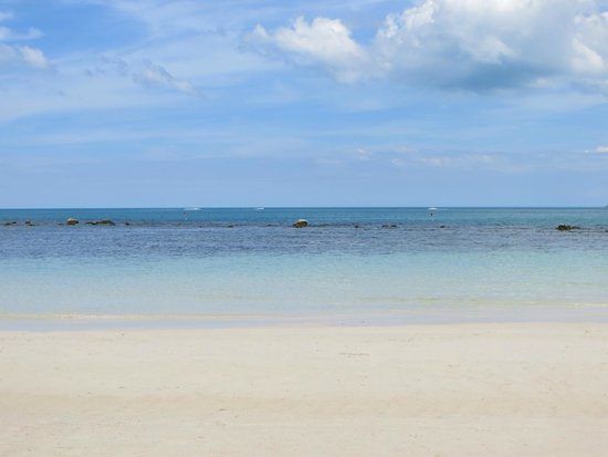 P&P Samui Resort: Beach in front of the hotel