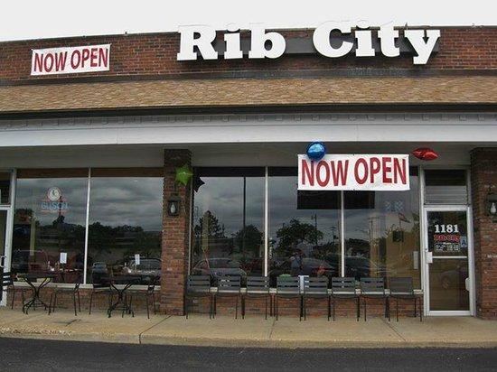 Rib City: New building! 1181 Colonnade Center