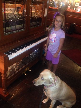 El Rancho Hotel & Motel : My kid loved the player piano. The dog didn't know what to think :)