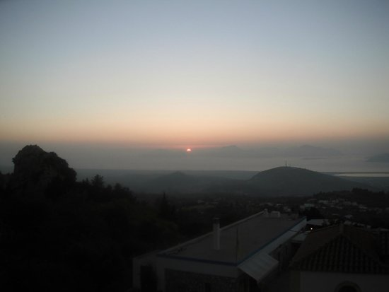 Zorbas Beach Hotel: Zia sunset