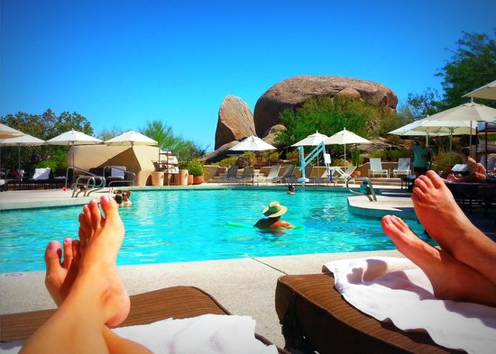 Boulders Resort & Spa, Curio Collection by Hilton: The main pool.