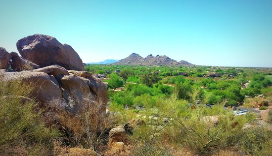 Boulders Resort & Spa, Curio Collection by Hilton: View from one of the trails on the resort grounds.