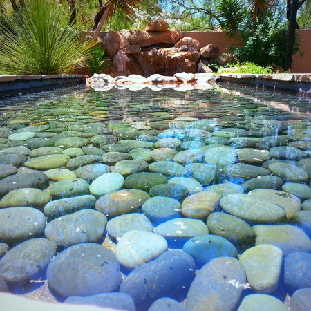 Boulders Resort & Spa, Curio Collection by Hilton: Garden area at the Spa.
