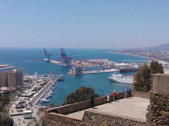 City Sightseeing Malaga : Espectculares vistas de Málaga