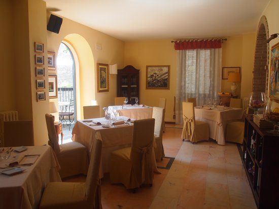 La Locanda del Capitano: The breakfast room