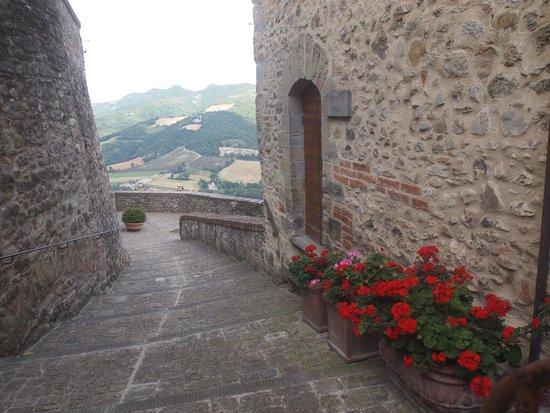 La Locanda del Capitano : One of the amazing views from Montone