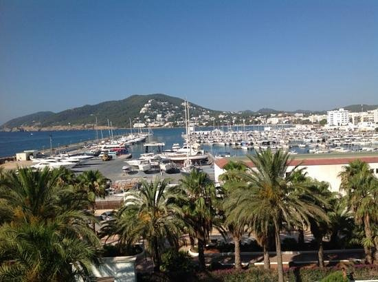 Aguas de Ibiza: View from our bedroom