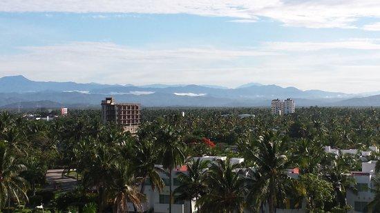 The Grand Mayan Acapulco: Inland view