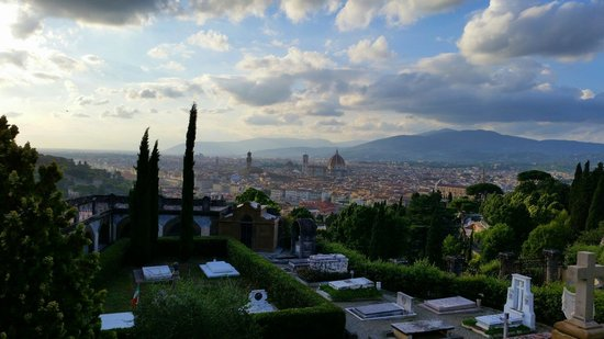 Basilica San Miniato al Monte: The best view of Florence