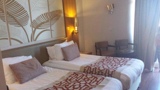 Akka Alinda Hotel : 2-х местный номер, с дополнительной кроватью.