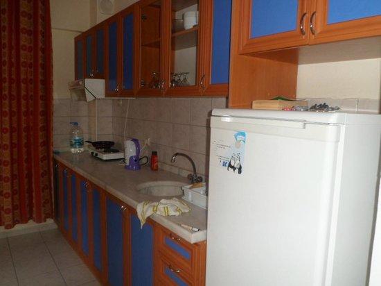 Melissa Garden Apart Otel: Kitchen
