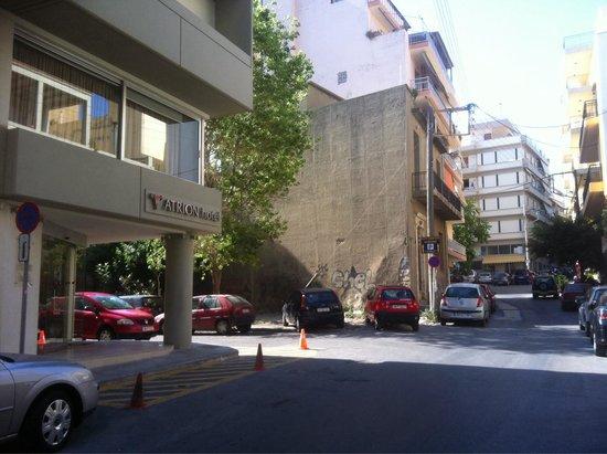 Atrion Hotel : vue extérieure