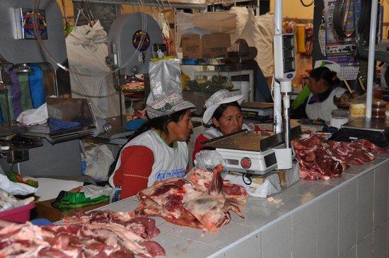 Plaza de Armas de Chivay: Mercado de Chivay