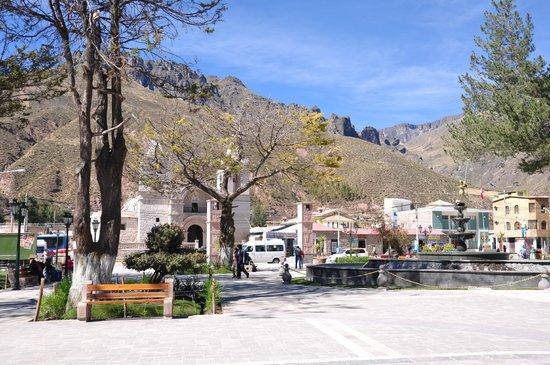 Plaza de Armas de Chivay: Plaza de armas