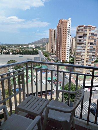 Servigroup Pueblo Benidorm: Vistas desde el balcón