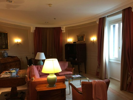 Rome Marriott Grand Hotel Flora: Presidential Suite