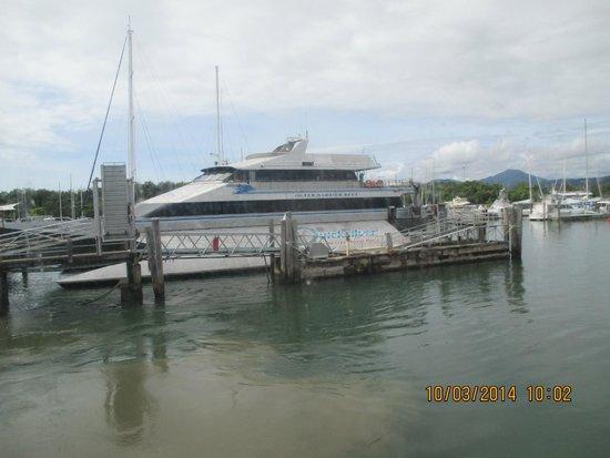 Quicksilver Cruises: Next stop the reef
