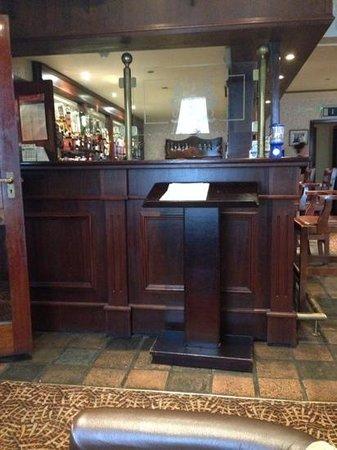 Highlands Hotel: The bar