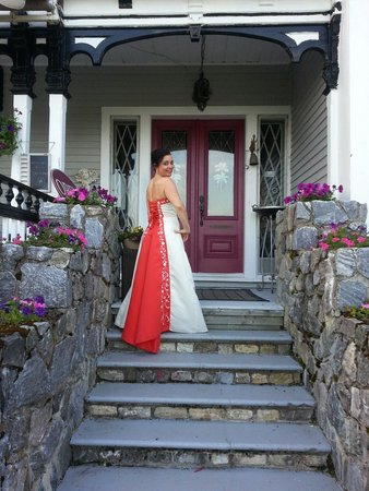 St. Martins Country Inn : Front door