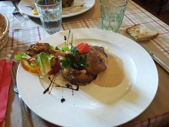 La Petite Borie: Cuisse de canard