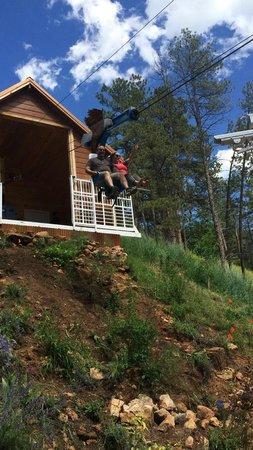 Rush Mountain Adventure Park : Flying eagle ride