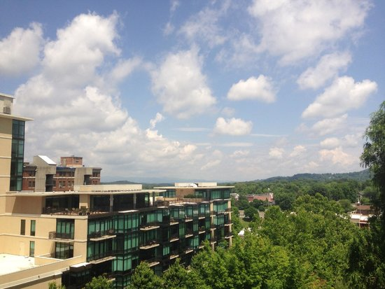 Renaissance Asheville Hotel : 6th floor view to north