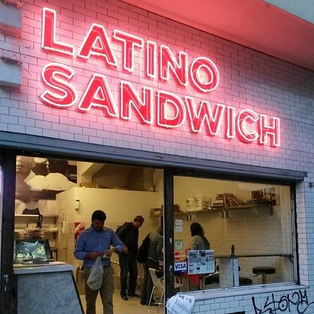 Photo of Latin American Restaurant Latino Sandwich at Tacuari 185, Buenos Aires, Argentina