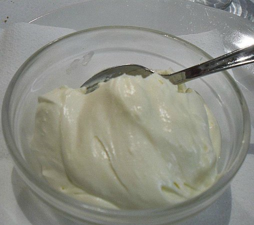 Restaurante Cambados: Home made lemon mousse