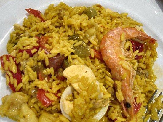 """Restaurante Cambados: Paella """"starter"""""""
