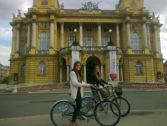 Blue Bike Zagreb Cycling Tours: Blue Bike Zagreb cycling and having fun